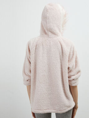 Kangaroo pocket sweat pink.