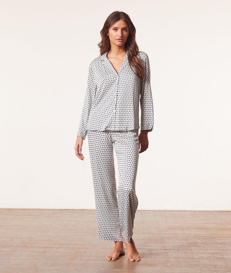 Print pyjama bottoms ;${refinementColor}