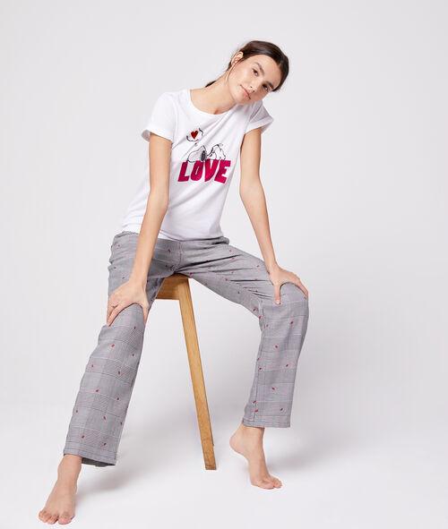 "T-shirt ""Love"" snoopy"
