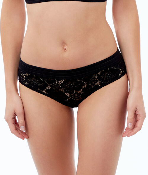 Floral lace microshorts