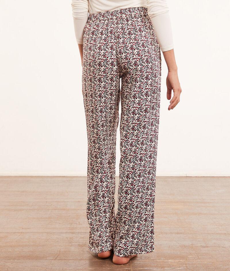 Printed flared pyjama bottoms ;${refinementColor}