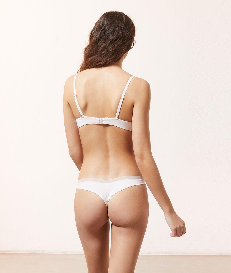 Organic cotton classic bra with thin padding;${refinementColor}