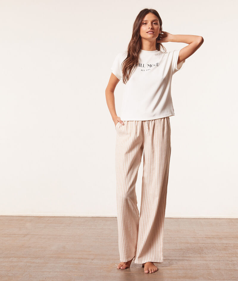 """Good things"""" short-sleeved top ;${refinementColor}"""