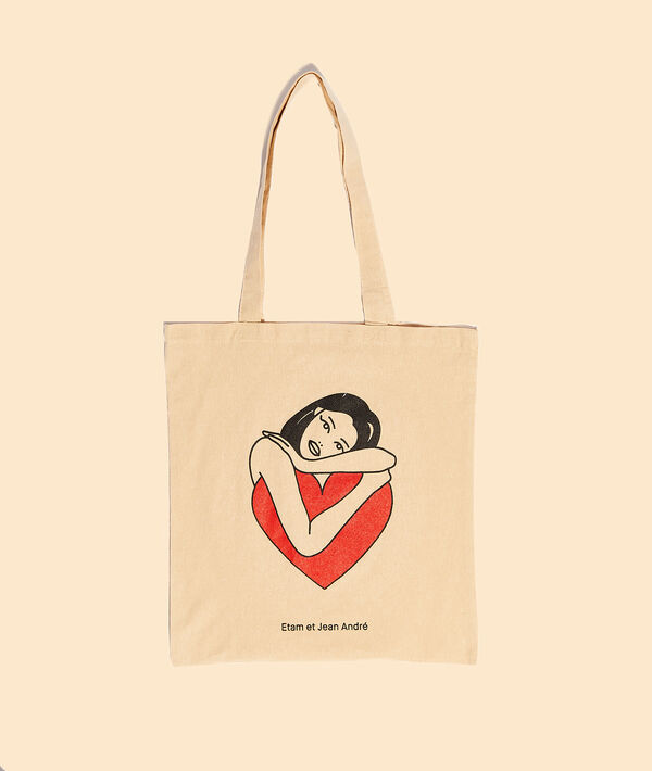 Tote bag tattoo 'selflove';${refinementColor}