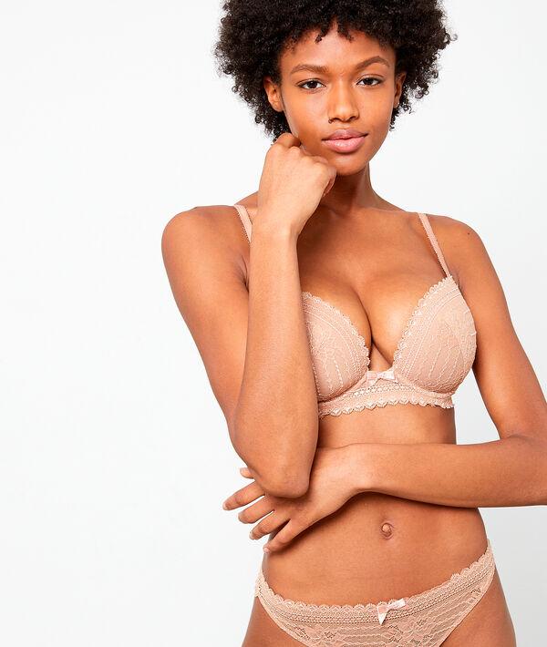 Bra n°5 : lace padded bra