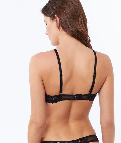 Slightly padded lace bra
