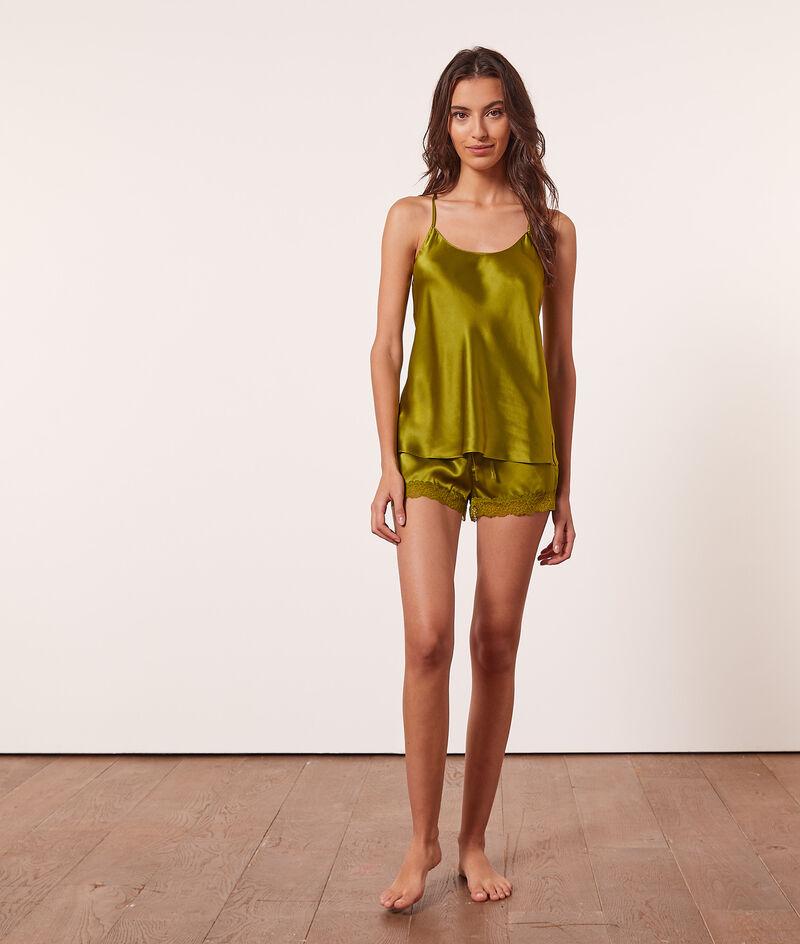 Silk camisole ;${refinementColor}