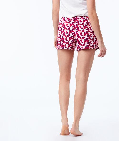 Heart print shorts