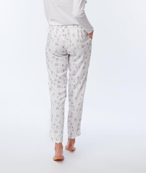 Three-piece pyjama set