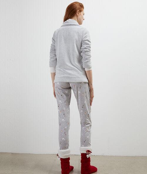 Three-piece pyjama set