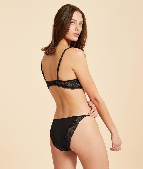 Lace bikini briefs;${refinementColor}