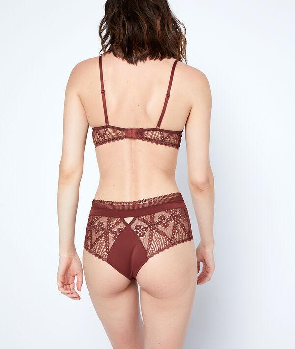 Bra n°3 - lace triangle push-up bra