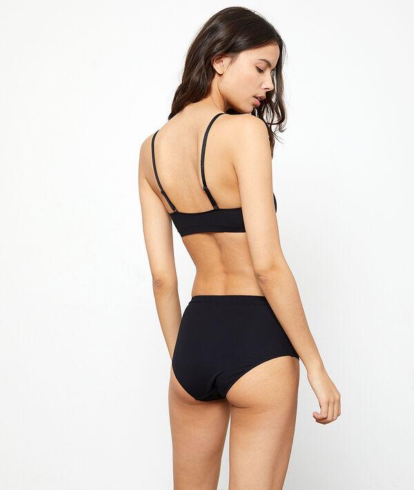 Lace high waist briefs;${refinementColor}