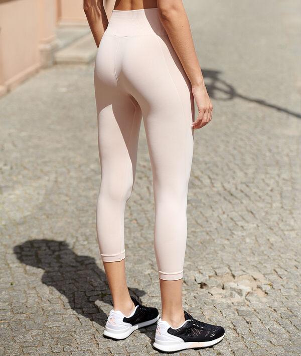 Mid-rise waist leggings