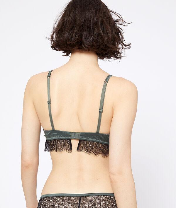 Bra n°2 - satin push-up bra