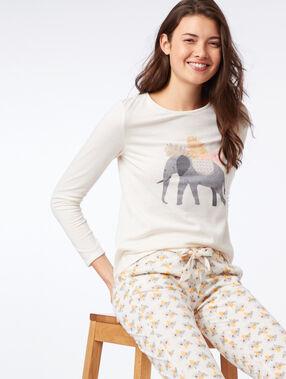Elephant top ecru.