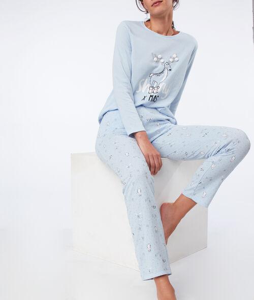 Cat pyjama bottom