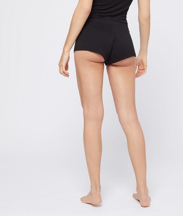 Lace trim pyjama shorts
