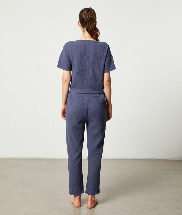 Lounge jumpsuit;${refinementColor}