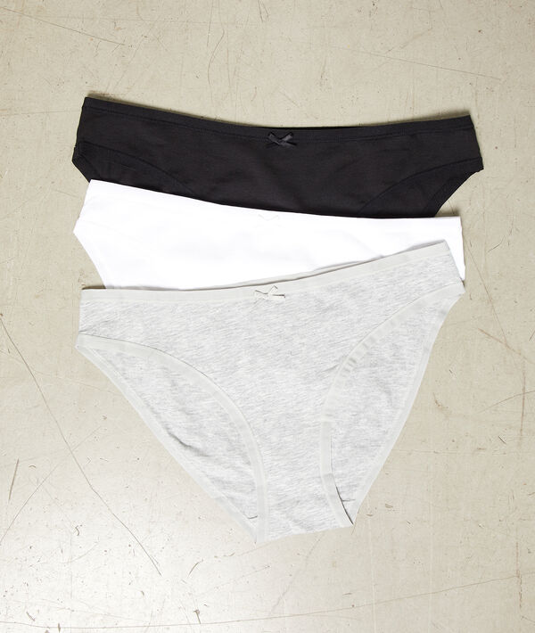 Pack of 3 knickers;${refinementColor}