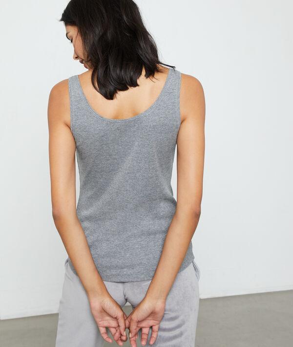 """Cotton """"just love"""" vest"""