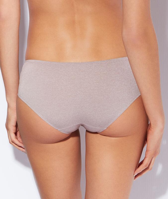Micro shorts beige.