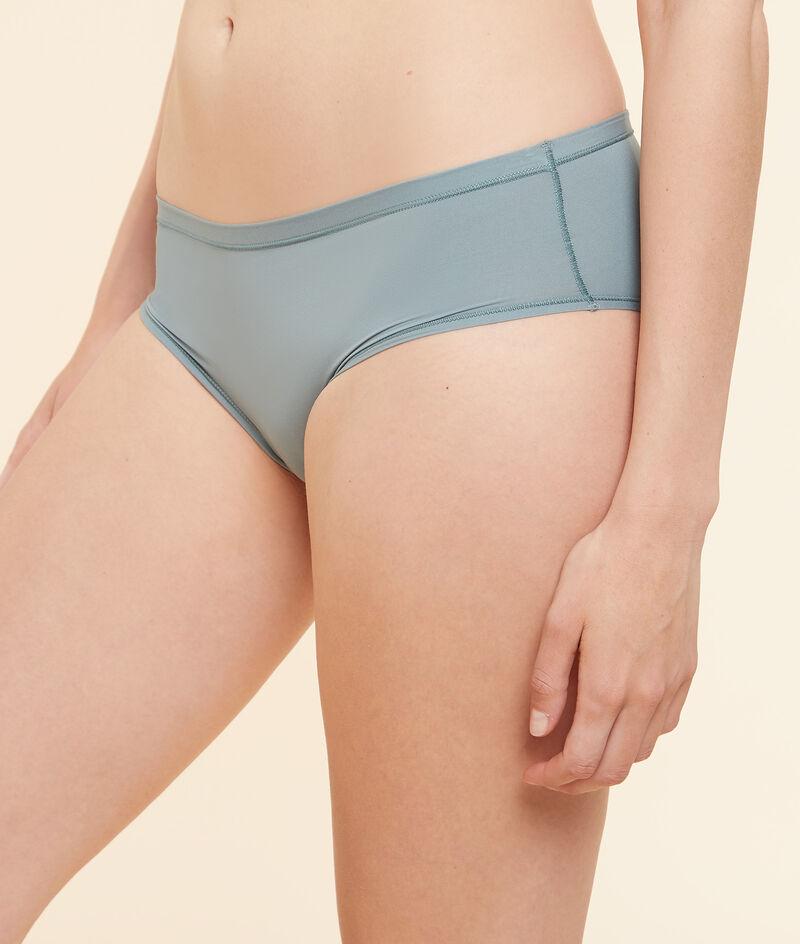 Stretchy microfibre shorts;${refinementColor}