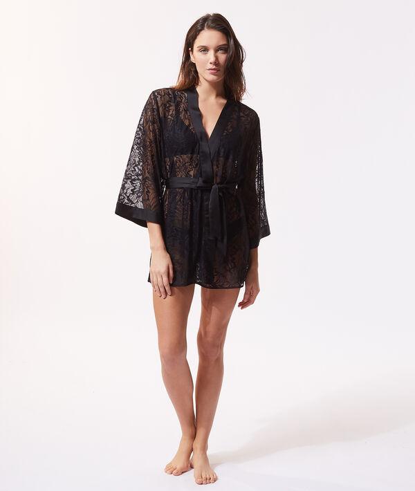 Lace kimono;${refinementColor}