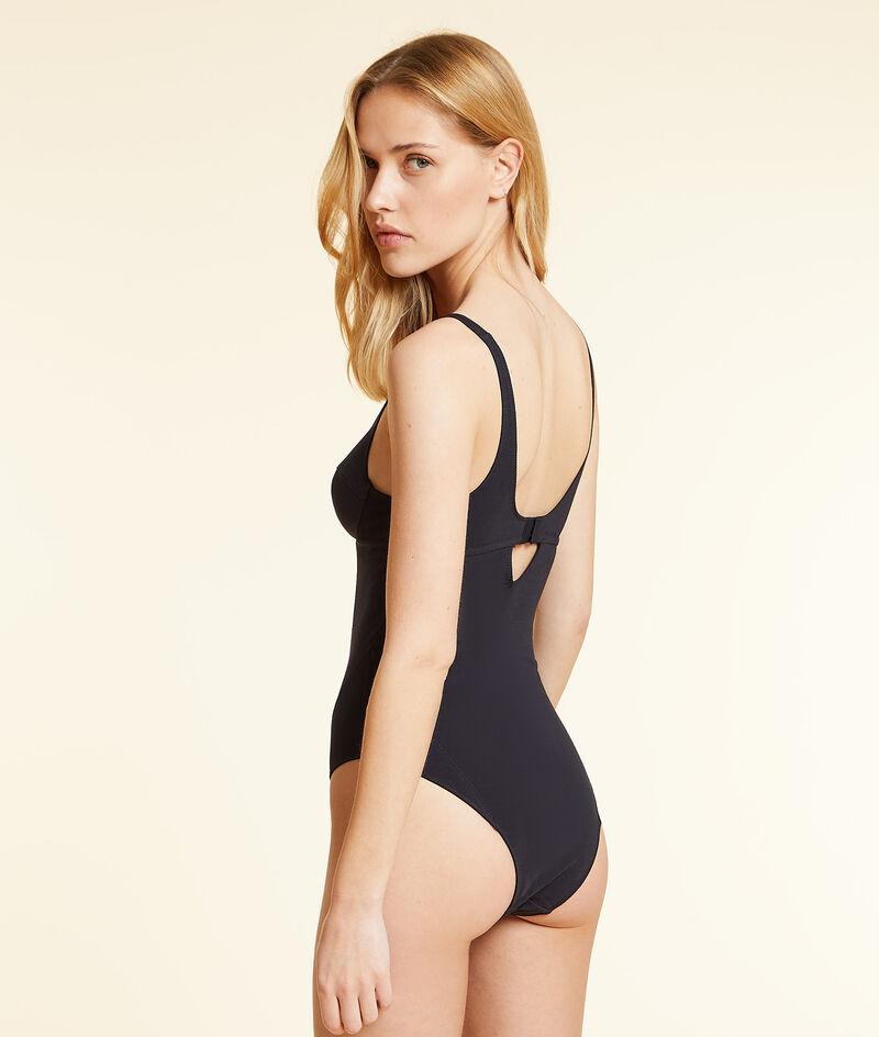 Comfortable bodysuit in organic stretch cotton ;${refinementColor}