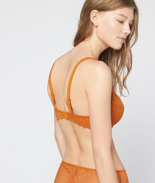 Bra n°4 - lace push up cut in light fabric