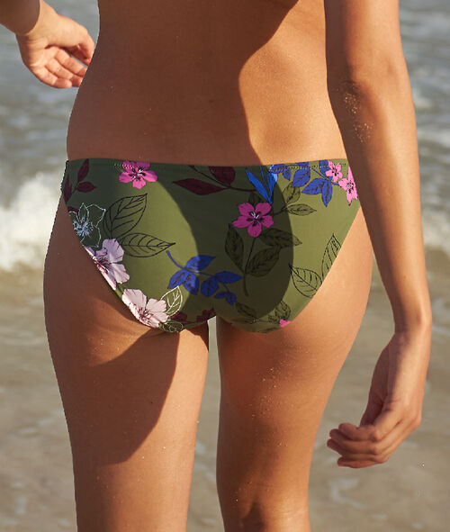 Floral bikini bottom