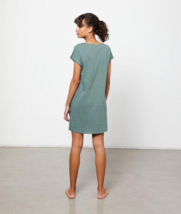 world' print nightshirt;${refinementColor}