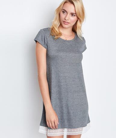 Nightdress gray.
