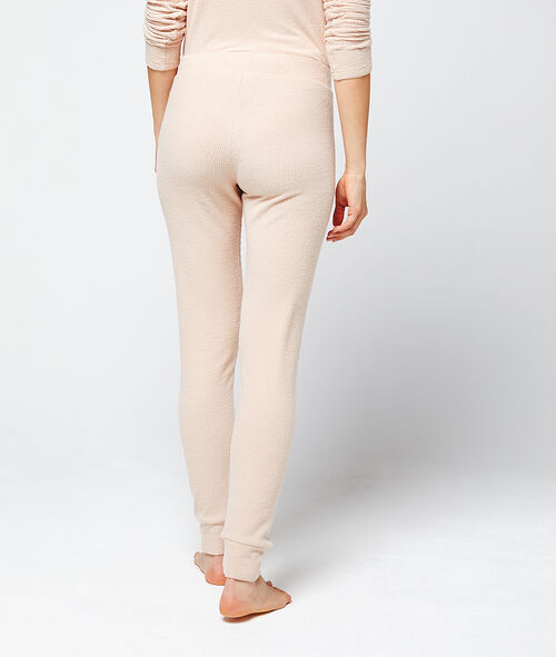 Trousers in soft knit