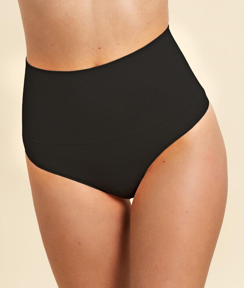 High waist thong - medium support;${refinementColor}