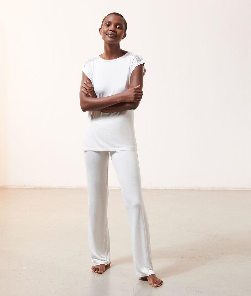 High waist fluid trousers;${refinementColor}