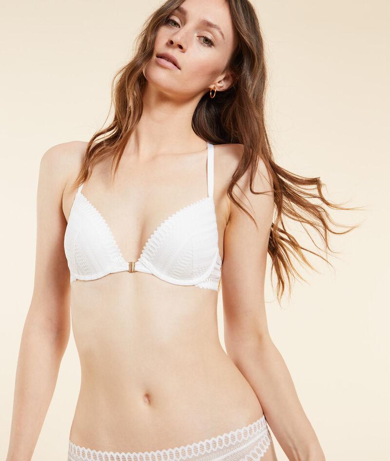 Bra no. 2 - push-up plunge bra;${refinementColor}