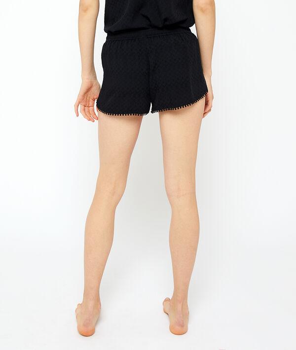 Viscose pyjama shorts ;${refinementColor}