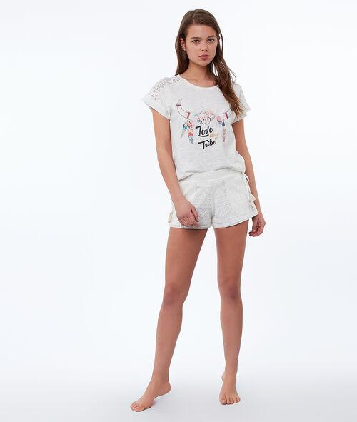Ethnic print T-shirt