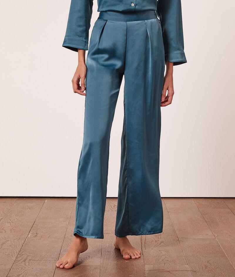Satin pyjama bottoms ;${refinementColor}