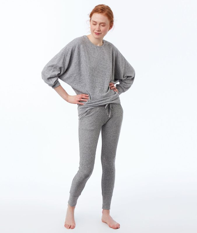 Homewear leggings gray.
