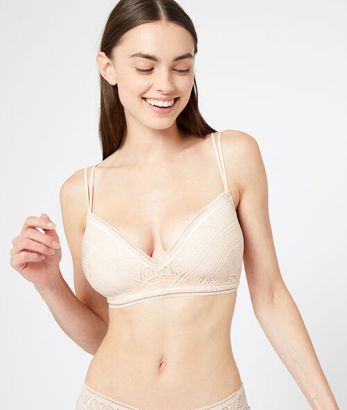 Lightly padded bra