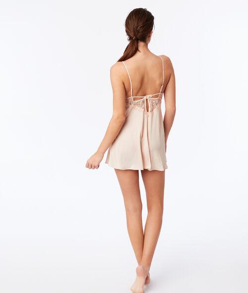 Lace panel chemise