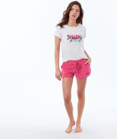 Terry cloth shorts grenadine.