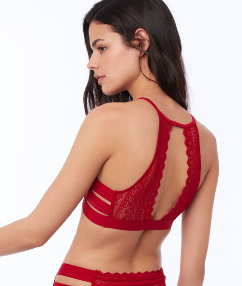 Lace bra, 3 bands