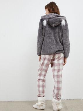 Three-piece pyjama set anthracite.