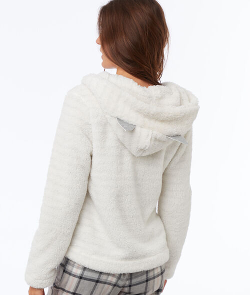 Homewear striped jacket