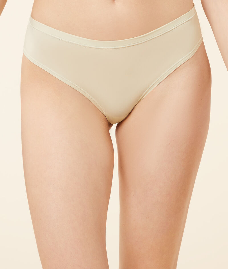 Lace and stretchy microfibre hipster briefs;${refinementColor}