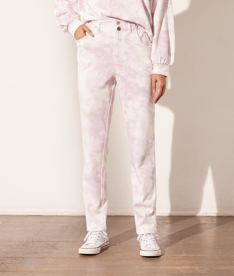 Tie and dye jogger bottoms