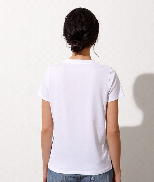 romance' embroidered T-shirt